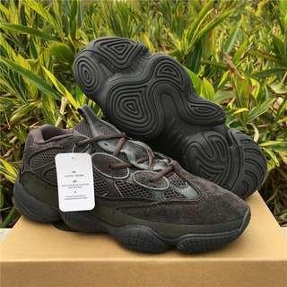 Adidas Yeezy 500 Desert Rat 'Utility Black'