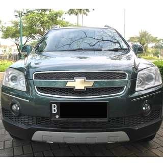 Chevrolet Captiva 2.4 AT 2007 warna hijau metalic , Go better