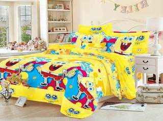 4 in 1 Spongebob Bedsheet