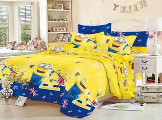 4 in 1 Minion Bedsheet