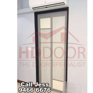 HDDoor the Slide&Swing kitchen and toilet door with install