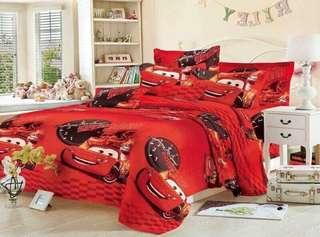 4 in 1 Cars Bedsheet
