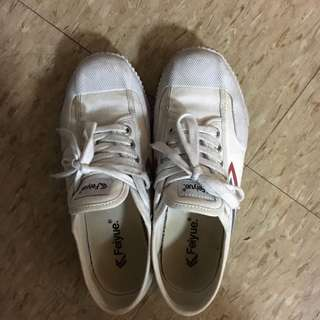 🚚 Feiyue 白鞋