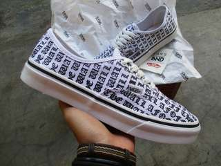 Vans Authentic Off The Wall White