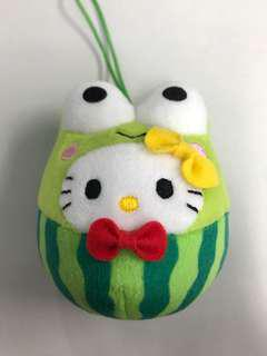 Hello Kitty 西瓜公仔