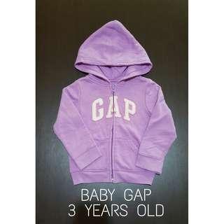 Baby Gap Purple Hoodie