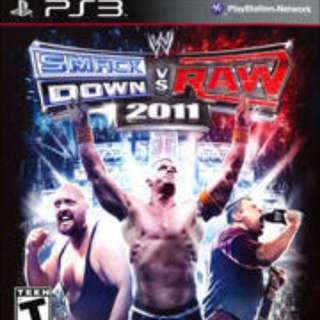 Smackdown VS. Raw 2011 for PS3