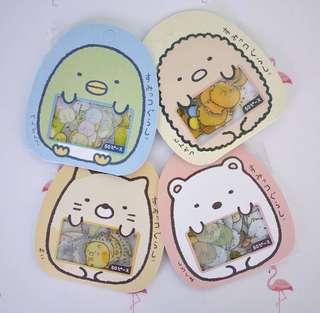 Sumikko Gurashi packet Stickers