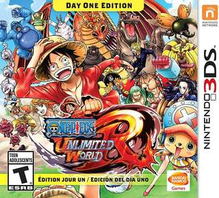 3DS One Piece Unlimited World