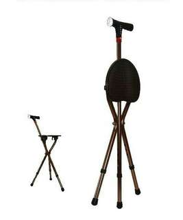 🚚 Chair Smart Walking Stick With Auto Alarm,  Lights And MP3