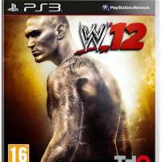 WWE '12 for PS3