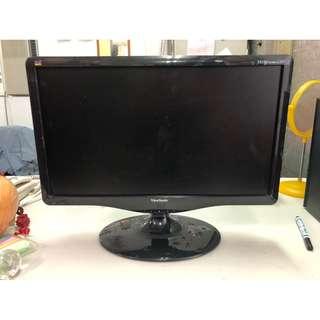 非凡二手家具 ViewSonic19吋液晶顯示器*電腦螢幕*型號:VA1931wma-LED *二手螢幕*液晶螢幕