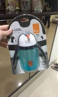 Penguin Blue Drink Bottle