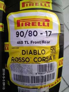 Tayar Pirelli Diablo Rosso Corsa II