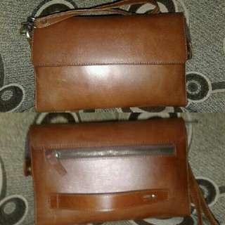 Handbag kulit asli bahan berkualitas dijamin memuaskan