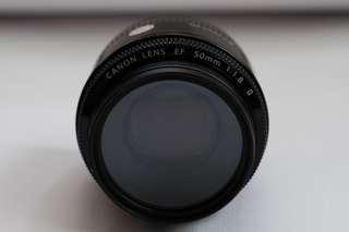Canon Lens EF 50mm f/1.8 II