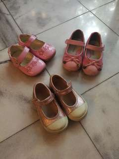 Pink girly shoes size 22