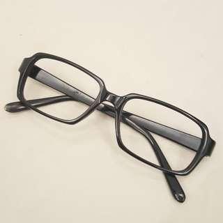 🚚 黑框眼鏡(無鏡片)1.
