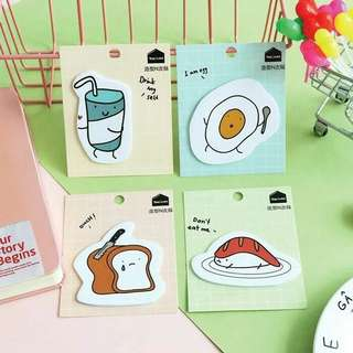 [PO] Don't Eat Me Food Post-its