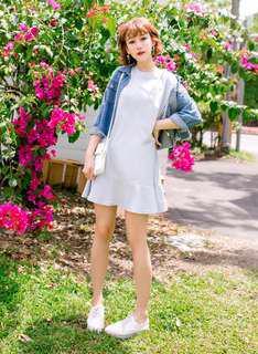 🚚 Frim Hem Oversized Dress