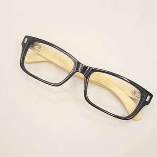 🚚 黑框眼鏡(無鏡片)3./竹子