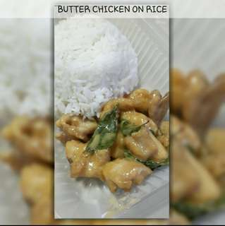 butter chic on rice