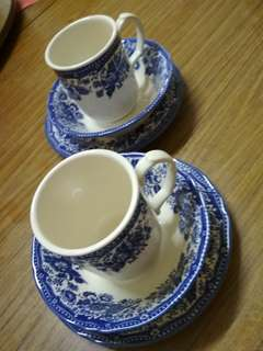 Cup and saucer 6pcs
