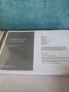 NUS Law Year 1 Textbooks