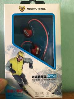Sport earpiece