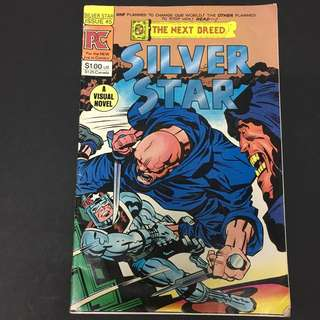 The Next Breed: Silver Star 5 PC Comics Book Jack Kirby Cartoon