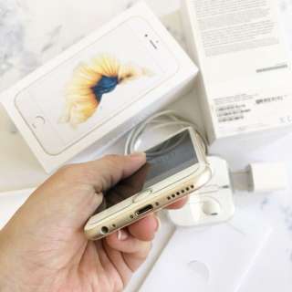 Iphone 6s Gold 128Gb Mulus