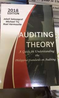 Auditing theory 2018