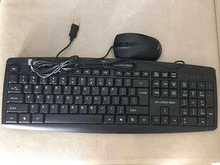 USB keyboard & mouse