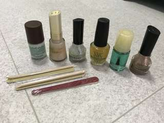 Nail polish, Nail strengthener, Nail care items