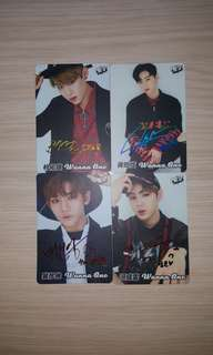 [YES CARDS]Wanna One Cards