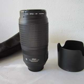Nikon AF-S VR Zoom-Nikkor 70-300mm f/4.5-5.6G IF-ED Lens Brand New
