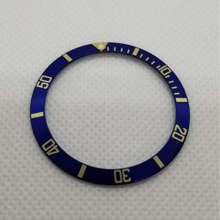 Rolex Blue Bezel insert for submariner 16613 16618