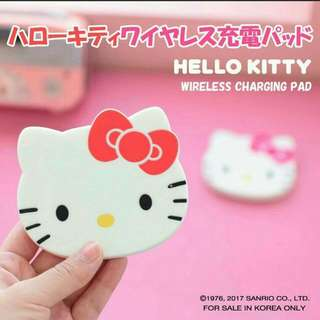 Hello Kitty Wireless Charging Pad Original Sanrio Japan