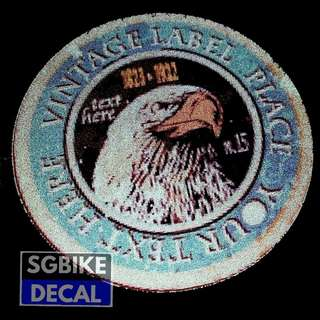 Eagle Reflective decal