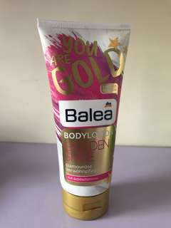🚚 Balea Golden Shine Body Lotion