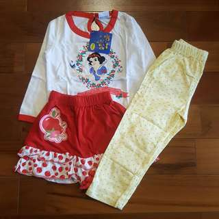 Snow white set 3 in 1
