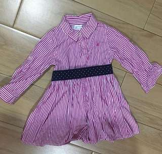 RL polo dress 9m