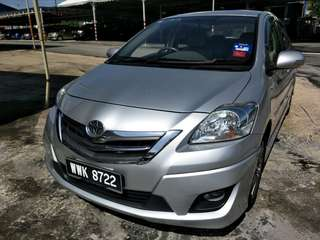TOYOTA VIOS 1.5 G LIMITED (A) EXCELLENT CONDITION WITH LEATHER SEAT, ORIGINAL BODYKIT, SAVE PETROL