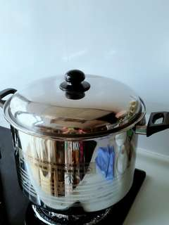 不銹鋼煲.瓦斯爐兩用煲 .電磁爐也啱用。