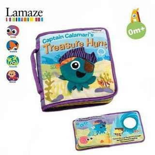 Lamaze Cloth Book - TREASURE HUNT