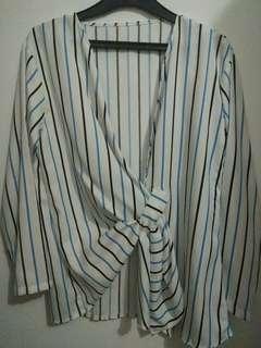 White stripe shirt