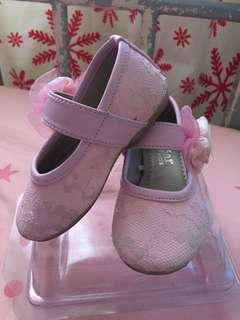 Pink Lace Shoes for Toddlers