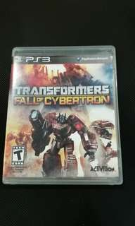 PS3 TRANSFORMERS FALL OF CYBERTRON