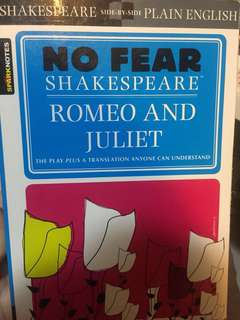 No Fear Shakespeare- Romeo and Juliet