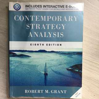 Contemporary Strategy Analysis (Eighth Edition)